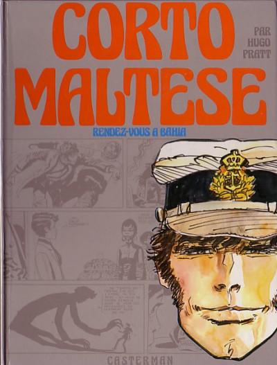 image de Corto Maltese (première série cartonnée) tome 1 - Rendez-vous à Bahia (édition 1973)