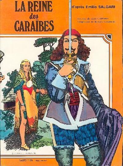 Couverture Reine des Caraïbes (La) - La reine des Caraïbes (éd. 1979)