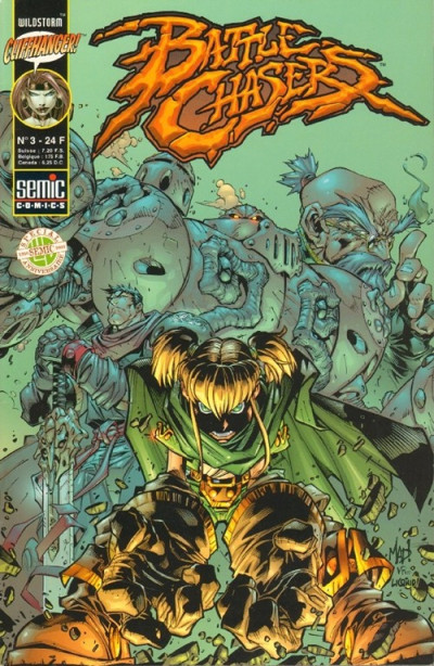 Couverture Battle Chasers (Semic) tome 3