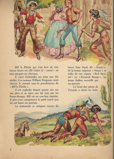 Page 1 Bill la flèche contre el condor
