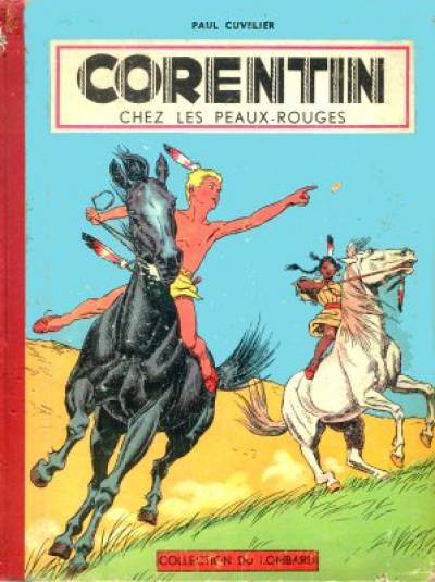 image de Corentin tome 3 - Corentin chez les peaux-rouges (édition 1956)