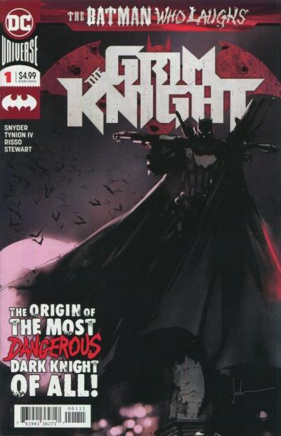 Couverture The Batman Who Laughs - The Grim Knight #1