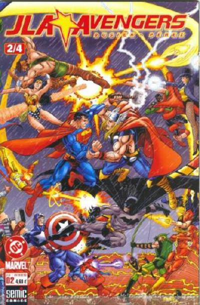 Couverture JLA - Avengers tome 2 - Livre Deux: Le tournoi des champions
