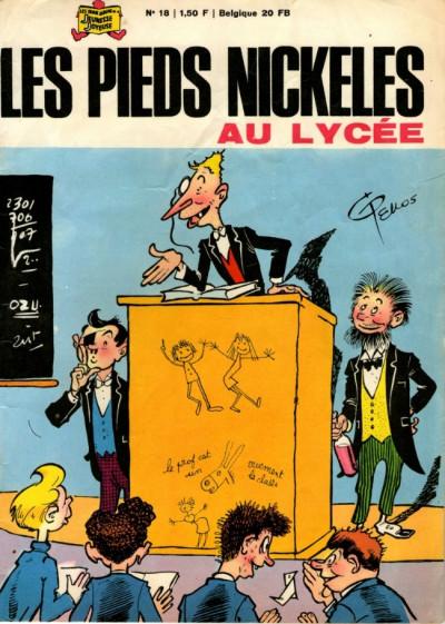 Couverture Les Pieds Nickelés (3e série) (1946-1988) tome 18 - Les Pieds Nickelés au lycée