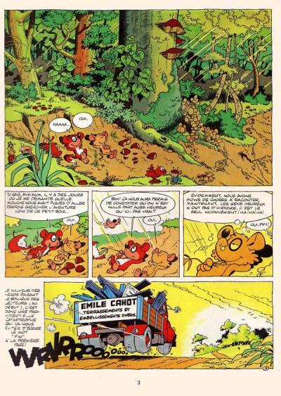 Page 1 Chlorophylle tome 10 - Chlorophylle et le grand exode