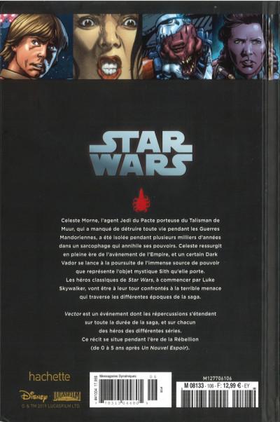 Dos Star Wars - Légendes - La Collection (Hachette) tome 106 - Vector - Tome 2 (éd. 2019)