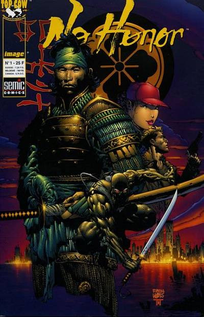 Couverture No Honor tome 1