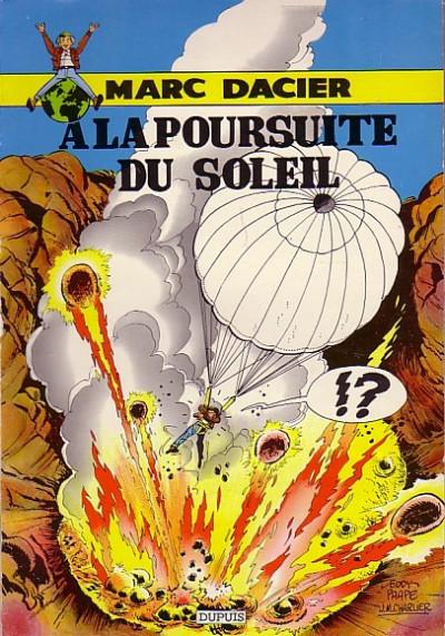 Couverture Marc Dacier (1re série) tome 2