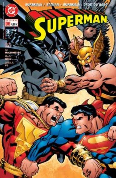 Couverture Superman (Semic) tome 6