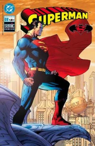 Couverture Superman (Semic) tome 8