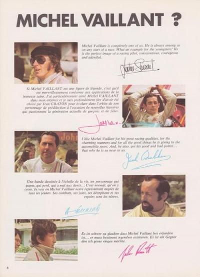 Page 1 Michel Vaillant - Spécial Michel Vaillant