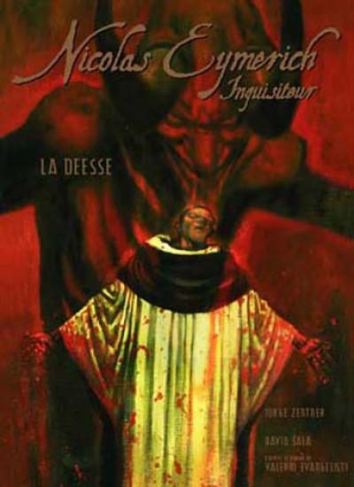 Couverture Nicolas Eymerich - tirage de tête tome 1 - La Déesse