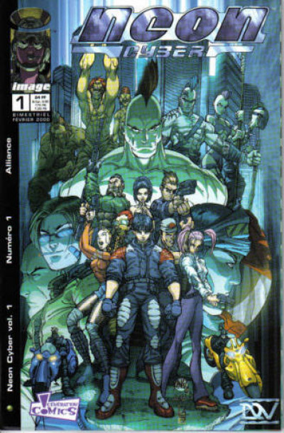 Couverture Neon Cyber tome 1