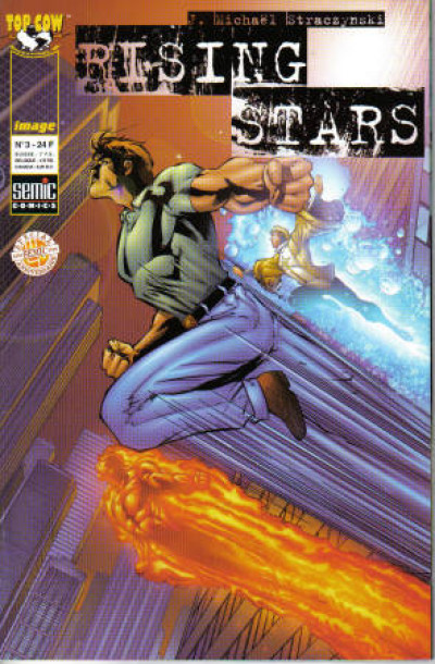 Couverture Rising Stars (semic) tome 3