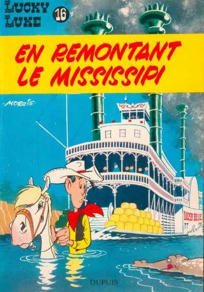 image de Lucky Luke tome 16 - En remontant le Mississipi (édition 1964)