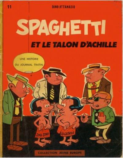 image de Spaghetti tome 2 - Spaghetti et le talon d'Achille (édition 1962)