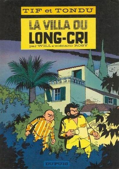 Couverture Tif et Tondu tome 8 (éd. 1966)