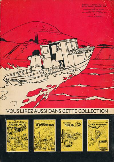 Dos Tif et Tondu tome 8 (éd. 1966)