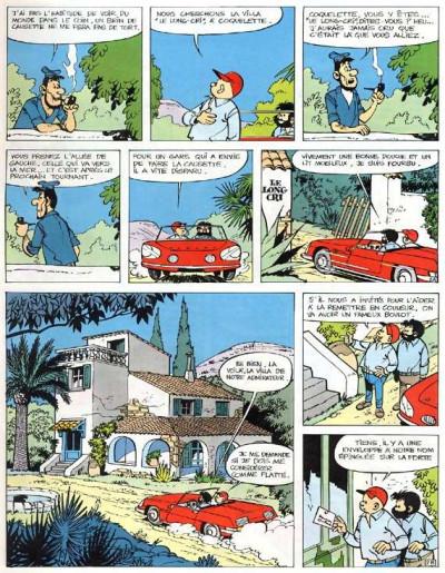 Page 1 Tif et Tondu tome 8 (éd. 1966)