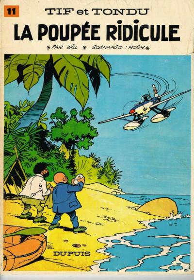 Couverture Tif et Tondu tome 11 (éd. 1968)