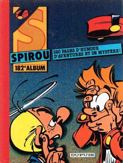 image de (Recueil) Spirou (Album du journal) tome 182 - Spirou album du journal (édition 1986)