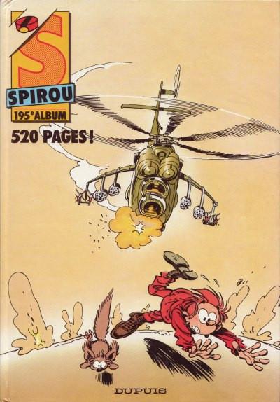 image de (Recueil) Spirou (Album du journal) tome 195 - Spirou album du journal (édition 1989)