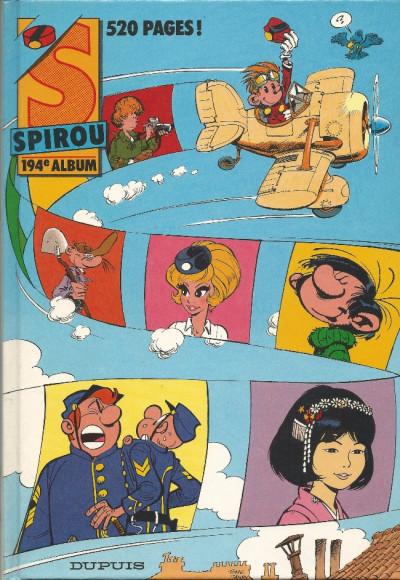 image de (Recueil) Spirou (Album du journal) tome 194 - Spirou album du journal (édition 1988)