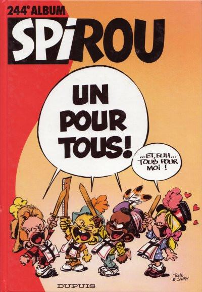 image de (Recueil) Spirou (Album du journal) tome 244 - Spirou album du journal (édition 1998)
