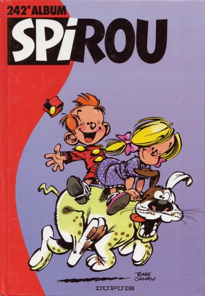 image de (Recueil) Spirou (Album du journal) tome 242 - Spirou album du journal (édition 1998)