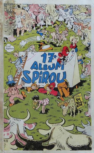 Couverture (Recueil) Spirou (Album du journal) tome 17 - Spirou album du journal (éd. 1945)