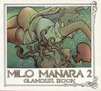 Couverture Manara - Glamour book 2