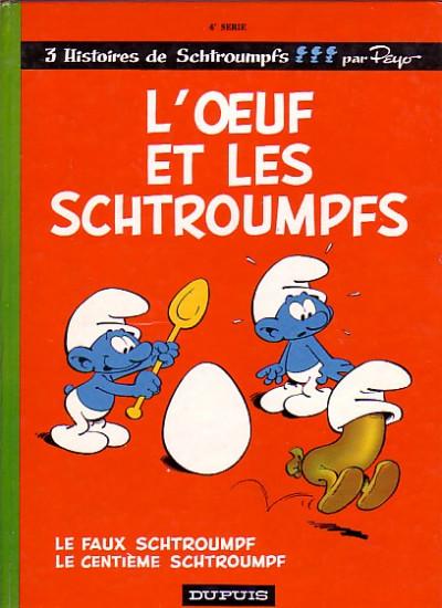 image de Schtroumpfs (en langues étrangères) tome 4 - L'œuf et les Schtroumpfs (édition 1968)