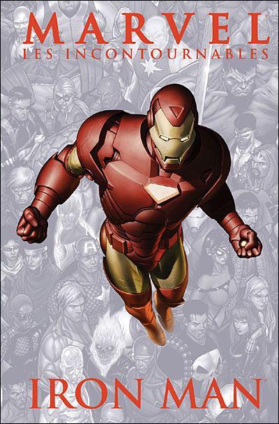 Couverture Marvel Les incontournables tome 2 - Iron man (éd. 2008)