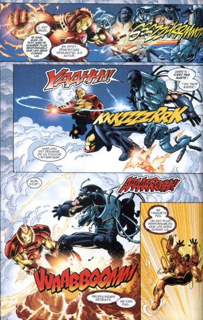 Page 1 Marvel Les incontournables tome 2 - Iron man (éd. 2008)