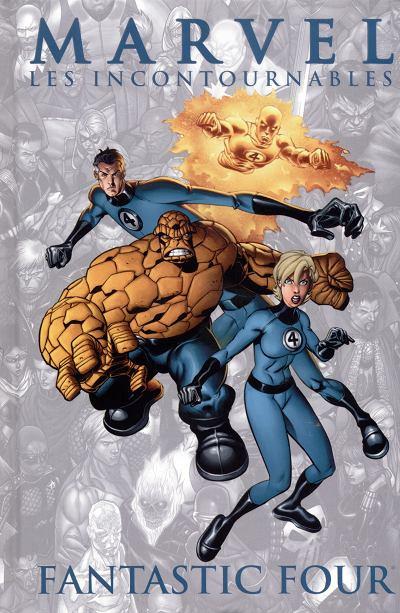 Couverture Marvel Les incontournables tome 4 - Fantastic four (éd. 2008)