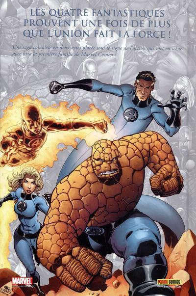 Dos Marvel Les incontournables tome 4 - Fantastic four (éd. 2008)