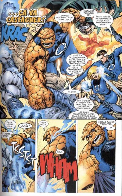 Page 1 Marvel Les incontournables tome 4 - Fantastic four (éd. 2008)