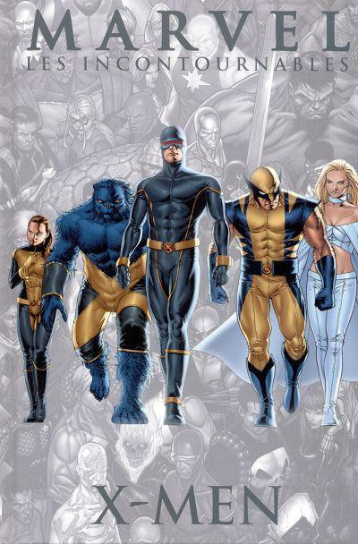 Couverture Marvel Les incontournables tome 5 - X-men (éd. 2008)