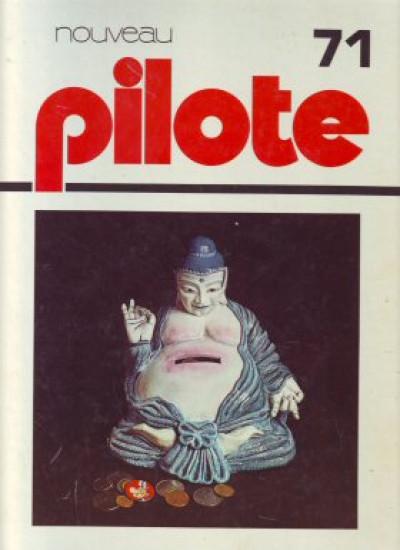 image de (Recueil) Pilote (Album du journal - Édition française cartonnée) tome 71 - Reliure n°71 (édition 1974)