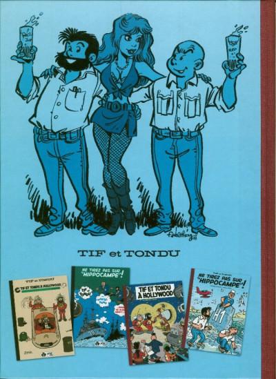 Dos Tif et Tondu - Ne tirez pas sur