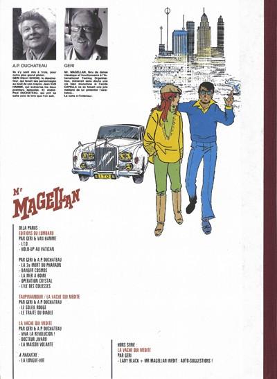 Dos Mr Magellan - La maison volante (éd. 2008)