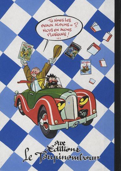 Dos Tif et Tondu (Taupinambour) tome 4 - Au congo belge