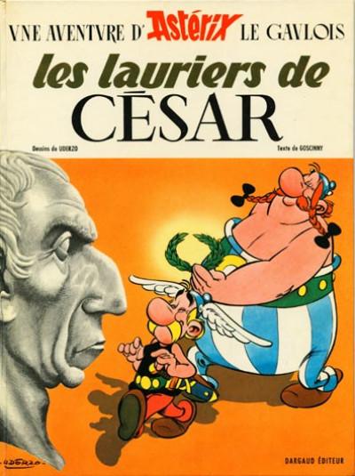 image de Astérix tome 18 - Les lauriers de César (édition 1972)