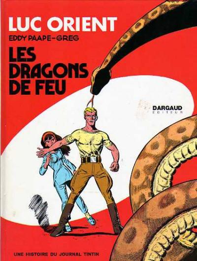 image de Luc Orient tome 1 - Les dragons de feu (édition 1969)