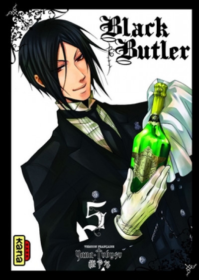 Page 5 black butler tome 5