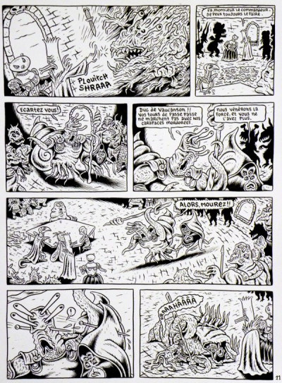Page 2 Planche originale Donjon Monsters tome 4 - p°11