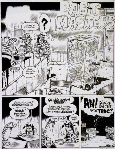 image de Planche originale Cosmik Roger ; Past Masters