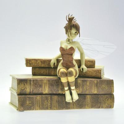 Page 1 figurine Clochette et les Livres - Édition Whitechapel