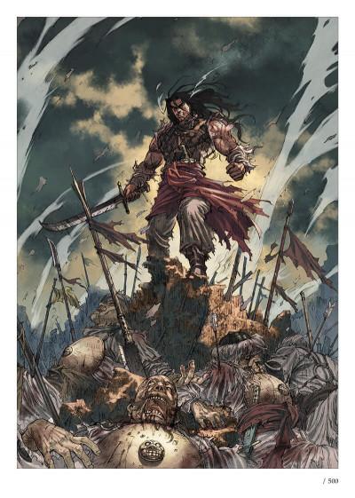 Page 1 Conan le Cimmérien - Le peuple du cercle noir + ex-libris offert