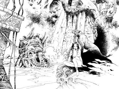 Page 3 Tirage de tête Conquistador tome 2